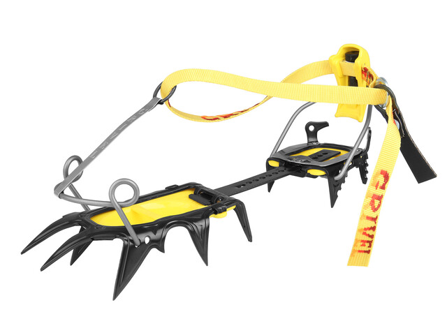 Grivel G12 COM Jääraudat , keltainen/harmaa